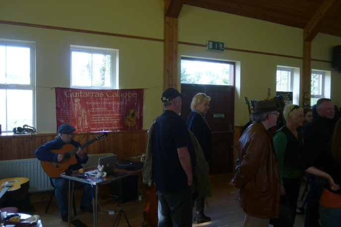 Guitarras Calliope @ Inishowen Guitar Festival, County Donegal. Ireland