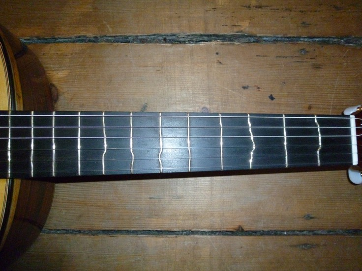 Guitarras Calliope with truetemperament